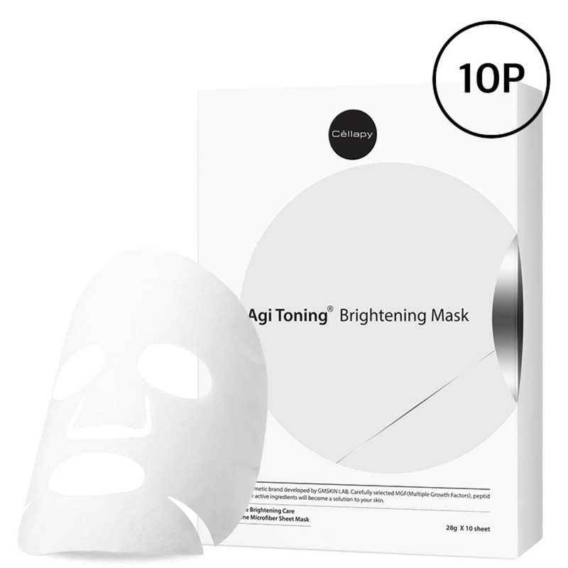 Agi Toning Brightening Mask Pack 10P