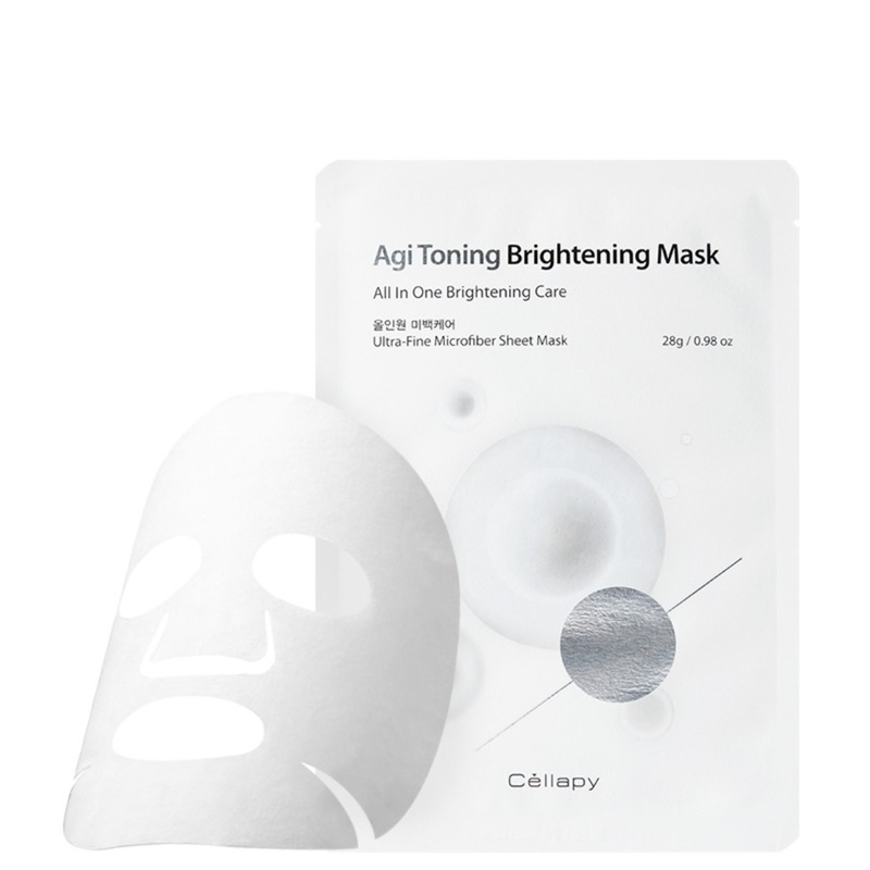 Agi Toning Brightening Mask Pack 1P